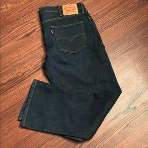 Men's Dark Blue Levi 511 Jeans